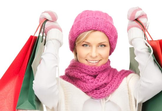 Žena u kupovini