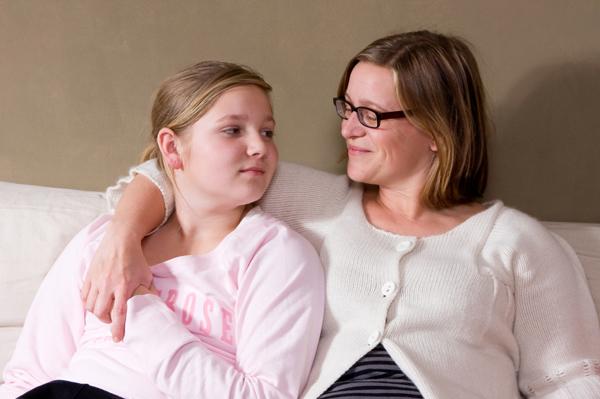 Mama razgovara s tinejdzerkom